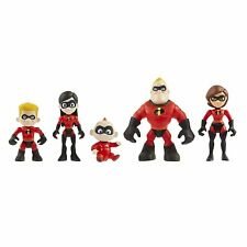 Disney The Incredibles 2 5 Pack Family Figures Articulated Figure Set Age 3+