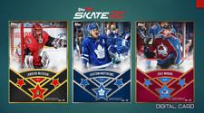 19-20 THREE STARS W6 SET OF 3 NILSSON/MATTHEWS/MAKAR Topps NHL Skate Digital