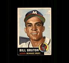 1953 Topps 214 Bill Bruton RC VG #D398038