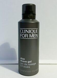 Clinique For Men Aloe Shave Gel 125ml Full Size Brand New