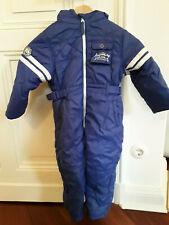 Schneeanzug,Skianzug,blau,weiß,2 - 4 Jahre,98,104,warm,Kapuze,gefüttert,Taschen,