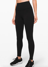 Lululemon Wunder Under HR tight 28  LW5BEHS Size6 Black NWT