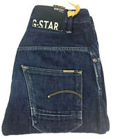 G-Star Gstar Men's Arc 3D Loose Tapered Blue Denim Jeans Size W29 L30