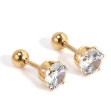 Cartilage Star Crystal Earring Body Piercing Stainless Steel Jewelry Ear Stud