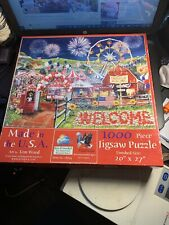 Sunsout 1000 Piece Puzzle Made in the USA Tom Wood Used