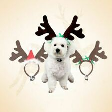 Christmas Pet Headband Deer Horn Hat Costume Dog Puppy Cat Cosplay Party Product
