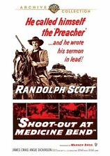 Shoot-Out At Medicina Bend DVD 1957 Randolph Scott,James Craig ,Angie Dickinson