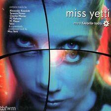 Miss Yetti - More Favorite Tools - CD MIXED - NEU OVP - TECHNO - XXX RECORDS