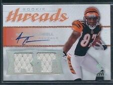 Andre Caldwell 2008 UD SP Rookie Threads Jersey Relics Auto #RT-AC LTD #50/50