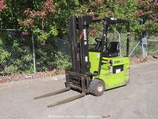 Clark Tmg17 Electric 3,000 lbs Warehouse Industrial Forklift Lift Truck bidadoo