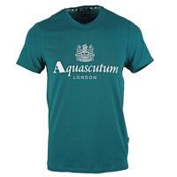 Aquascutum Griffin Logo Green T-Shirt