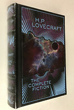 H P Lovecraft 'THE COMPLETE FICTION' - Weird Fiction - Sealed LEATHER BOUND