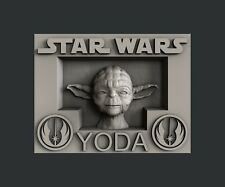 3d STL models for CNC, Artcam, Aspire, relief  Star Wars