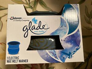 Glade Wax Melts Electric Warmer Blue