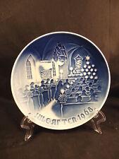 Bing & Grondahl Christmas Plate 1968
