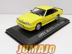 VA18 voiture 1/43 IXO altaya : OPEL Manta GT/E 1982 jaune