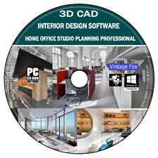 3d CAD Home Office Studio Innenarchitektur Professional Business Ort Planung +