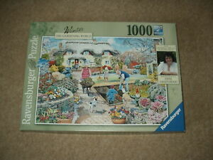 "RAVENSBURGER 1000 PIECE JIGSAW - ""WINTER"" - EXCELLENT CONDITION!!!"