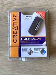 Creative Nomad MuVo Black Digital Media Player 128MB & USB 2.0 Flash Drive NEW