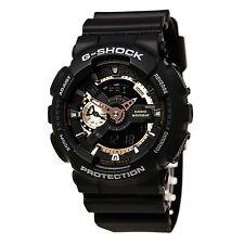 Casio GA110RG-1 Men's G-Shock Tough Analog & Digital Black Watch