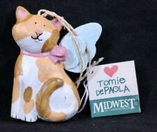 Vintage Tomie Depaola Midwest of Cannon Falls Cat With Angel Wings Ornament