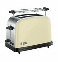 RUSSELL HOBBS Toaster Colours Plus+ Classic Cream 23334-56 6 Stufen 1670 W