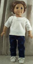 """Doll Clothes Made 2 Fit American Girl 18"""" inch Sleepwear 2pcs Harry Potter Print"""