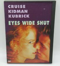 EYES WIDE SHUT DVD MOVIE, TOM CRUISE, NICOLE KIDMAN, SYDNEY POLLACK, MARIE R.