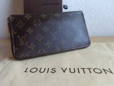 Louis Vuitton Geldbörse Zippy Original Monogram Canvas Staubbeutel & Box MA1059