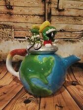 Exclusive 1998 Marvin the Martian & K9 Ceramic Tea Pot - Warner Bros Store
