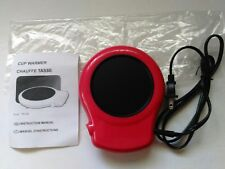 GB Red Cup Warmer TS-702 Brand New With Instruction Manual