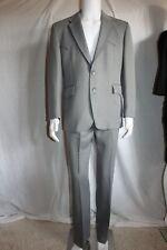 vtg 60's Levi'S Western Wear mens vintage suit grey poly pants & jacket 42R