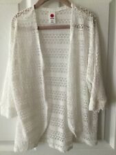 Total Girl White Cardigan Size (S) 7/8
