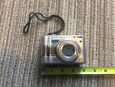 LUMIX Panasonic DMC-LZ4 5.0 MP Digital Camera Silver tested/works