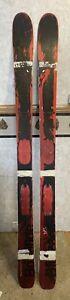 Blizzard Bonafide skis NEW 173cm red and black (flat w/o bindings)