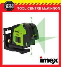 IMEX LX22G GREEN BEAM CROSSLINE LASER WITH PLUMB SPOT – 2 YEAR WARRANTY