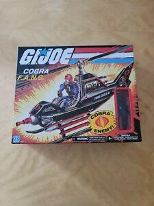 Hasbro GI Joe Retro Collection Cobra F.A.N.G. Copter & Pilot fang