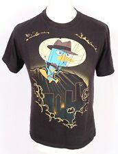 Phineas And Ferb Black T Shirt M L Slim Fit Perry The Platypus Disney Cartoon