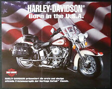 Franklin MINT Harley Davidson Heritage Softail, Flyer, SUPPLEMENTO PUBBLICITARIO