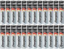 24 Energizer AAAA E96 Alkaline Batteries Exp 12/2020