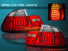 99-03 BMW E46 330 328 325 TAIL LIGHTS LED R/C 2DR 00