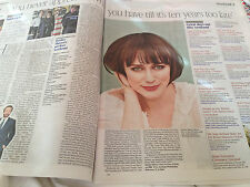 Times Weekend Supplement Dated February 1 2014 - Keeley Hawes Matthew MacFadyen