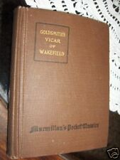 THE VICAR OF WAKEFIELD O. GOLDSMITH 1917 L1 ^