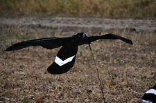 Black and White Canada Goose Flapping Flyer Decoy by Sillosock Decoys Sillosocks