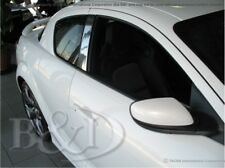 CHROME PILLAR POST COVERS FOR MAZDA RX8  INCLUDES 2 PIECES 2004-2011