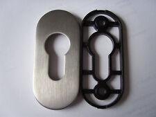Rahmen Cliprosette 813/6 6mm PZ Edelstahl