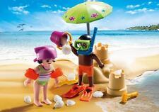 Playmobil Special plus nº 9085 # Kids con castillo de arena # unas vacaciones de verano niños & * nuevo