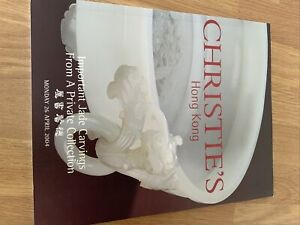 Christies Hong Kong Catalogue, Important Jade Carvings Private  Collection-2004
