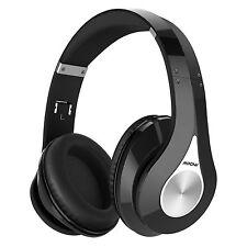 Mpow Bluetooth Headphones Over Ear Hi-Fi Stereo Wireless Headset Foldable Sof...