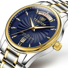 Automatic Mechanical Men's Watches Luxury Swiss Sapphire Crystal with Calendar